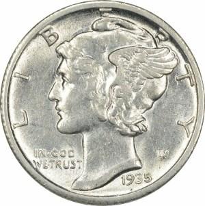 1935 Dime