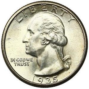 1935 Quarter