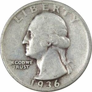 1936 Quarter