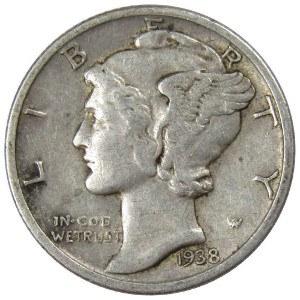 1938 Dime