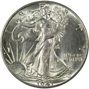 1941 Half Dollar