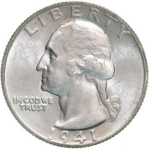 1941 Quarter
