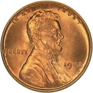 1942 Wheat Penny