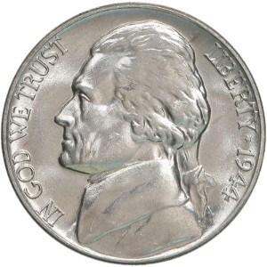 1944 nickel