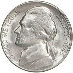 1945 nickel