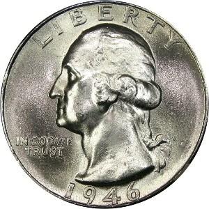 1946 Quarter