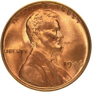 1946 Wheat Penny