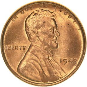 1947 Wheat Penny
