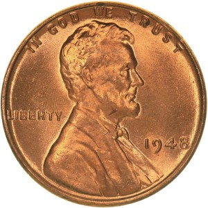 1948 Wheat Penny