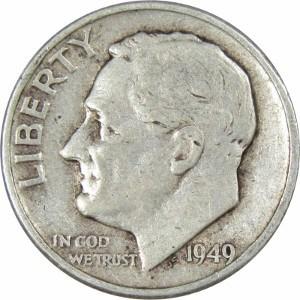 1949 Dime