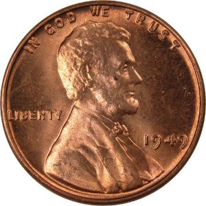 1949 Wheat Penny
