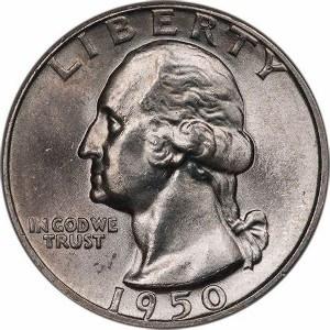 1950 Quarter