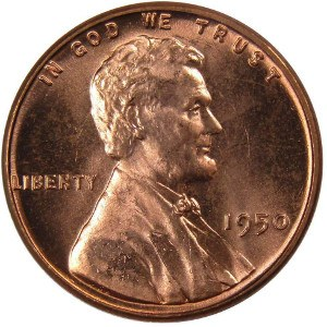1950 Wheat Penny