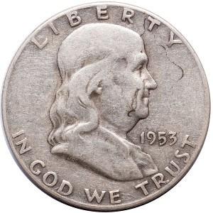 1953 Half Dollar