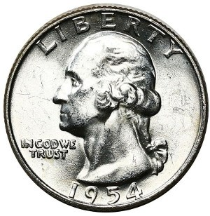 1954 Quarter