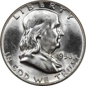 1956 Half Dollar