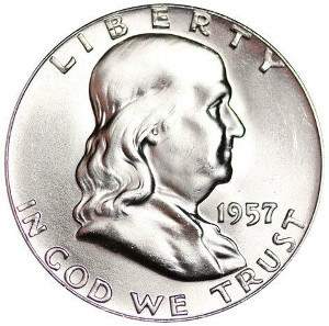 1957 Half Dollar