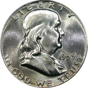 1959 Half Dollar