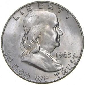 1963 Half Dollar