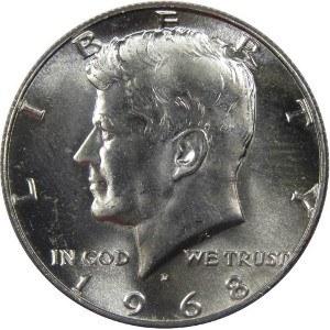 1968 Half Dollar