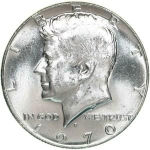 1970 Half Dollar