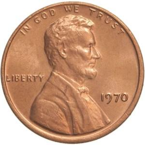 1970 Penny
