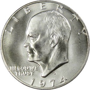 1974 Silver Dollar