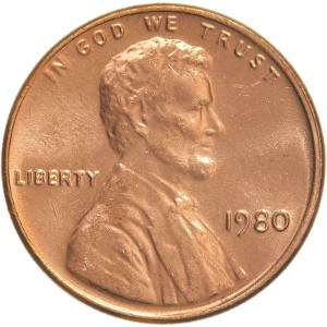 1980 Penny
