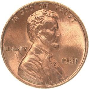 1981 Penny
