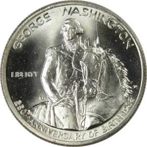 1982 George Washington Silver Half Dollar