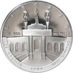 1984 Olympic Silver Dollar