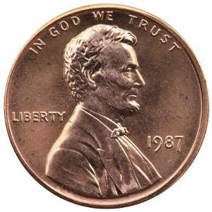 1987 Penny