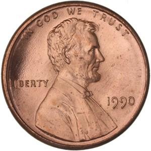 1990 Penny