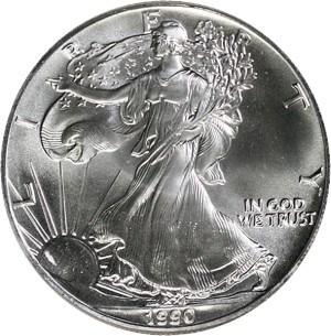 1990 Silver Eagle