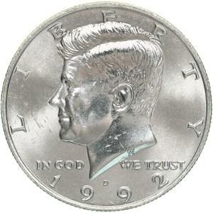 1992 Half Dollar