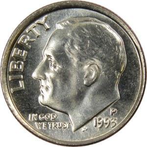 1993 Dime