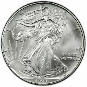 1993 Silver Eagle
