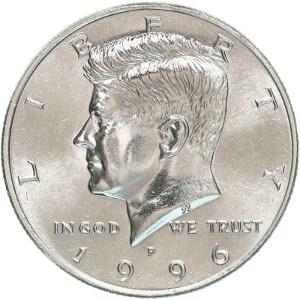 1996 Half Dollar