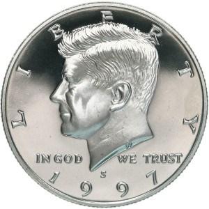 1997 Half Dollar