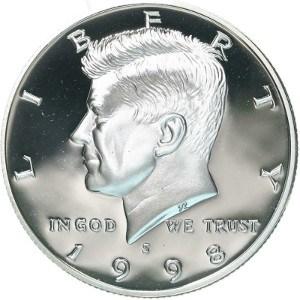 1998 Half Dollar