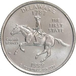 1999 Delaware Quarter
