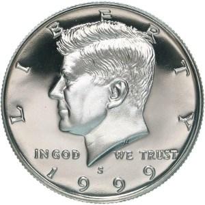 1999 Half Dollar