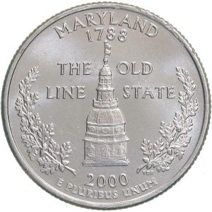 2000 Maryland Quarter