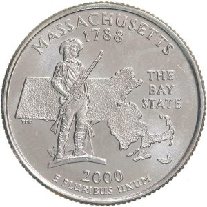 2000 Massachusetts Quarter