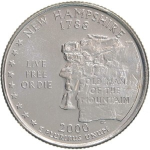 2000 New Hampshire Quarter