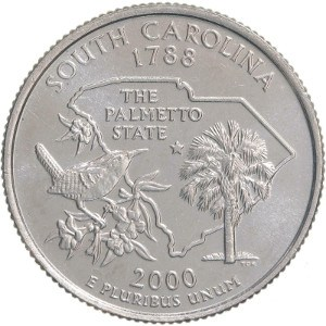 2000 South Carolina Quarter