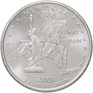 2001 New York Quarter