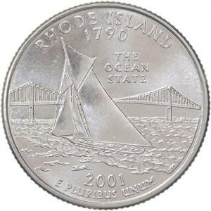 2001 Rhode Island Quarter