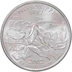 2002 Mississippi Quarter