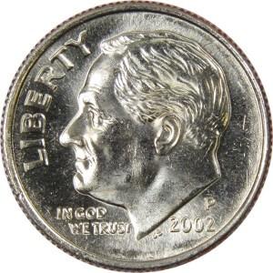2002 Dime